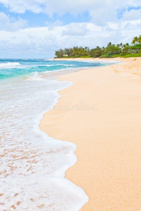 plażowy wymarzony tropikalny fotografia royalty free