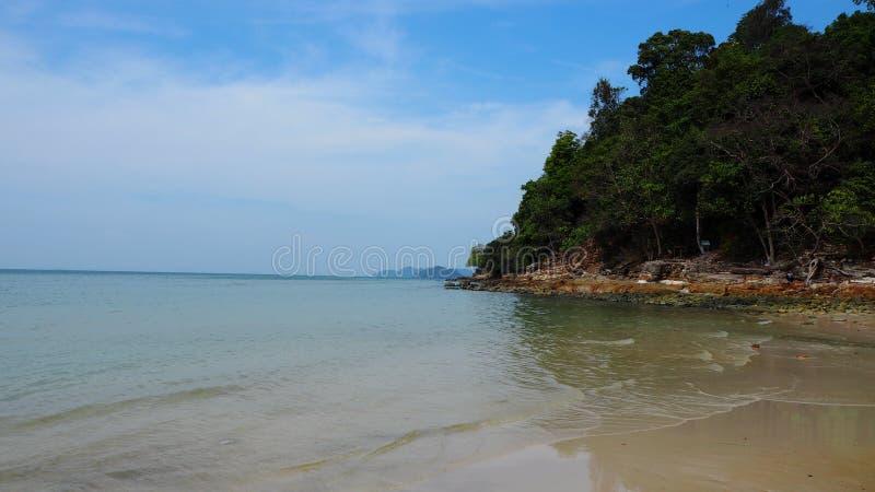 plażowy wyspy Langkawi Malaysia nadmorski obrazy stock