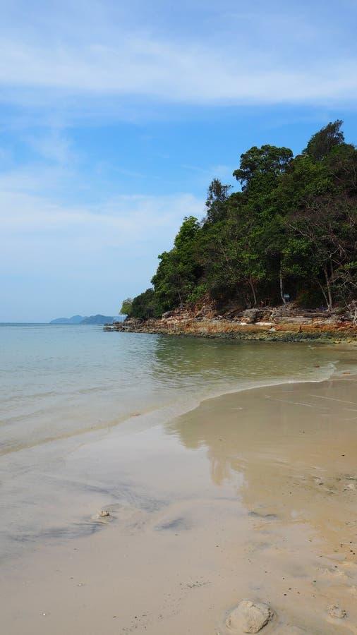plażowy wyspy Langkawi Malaysia nadmorski zdjęcia stock