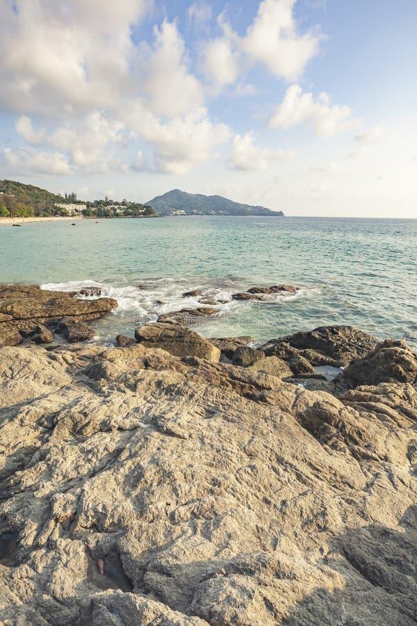 plażowy wyspy Phuket surin Thailand obrazy royalty free