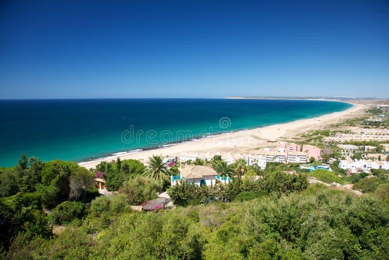 plażowy Zahara zdjęcia royalty free