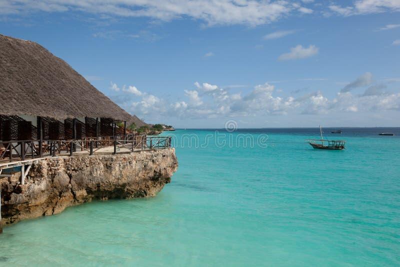 plażowy Zanzibar zdjęcia royalty free