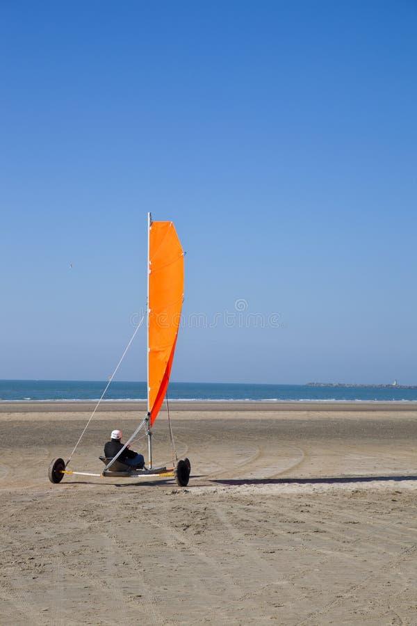 plażowy zapluskwiony żeglowanie zdjęcie stock
