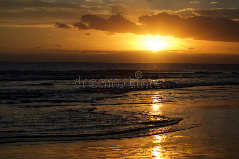 plaży bali kuta fotografia stock