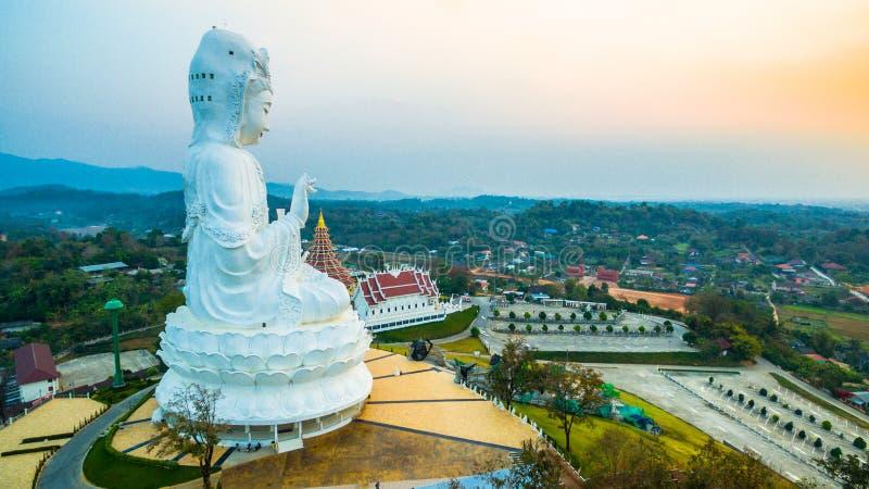 Pla cinese Kang di Hyua del wat del tempio in Chiang Rai a nord della Tailandia immagini stock libere da diritti