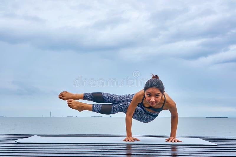 Pla de yoga images stock