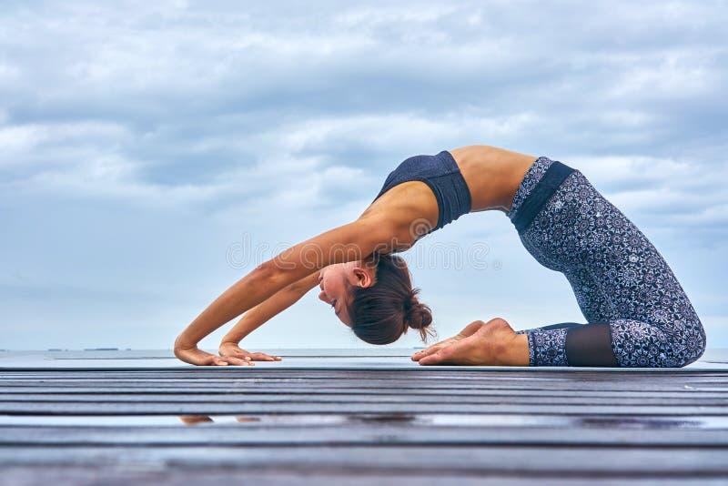 Pla de yoga photo libre de droits