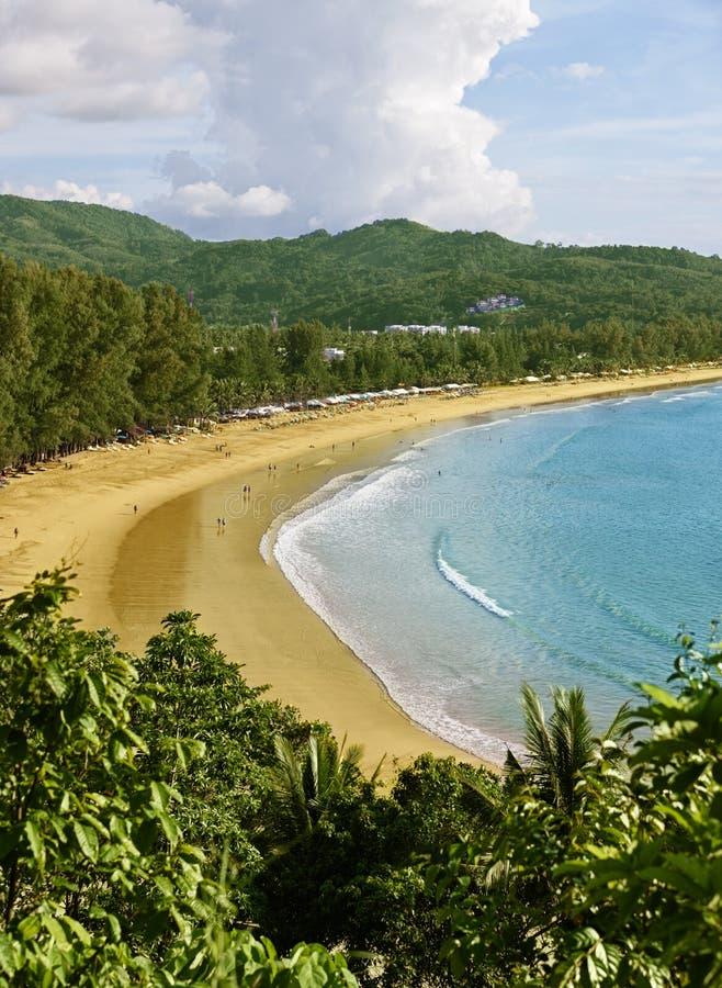Download Plażowa Kamala Phuket Thailand Zdjęcie Stock - Obraz: 25234836