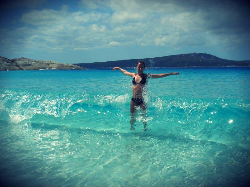 Download Plażowa lato zabawa obraz stock. Obraz złożonej z bikini - 27665949