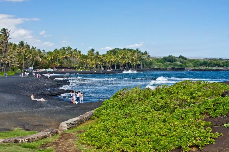 Download Plażowy czarny piasek zdjęcie editorial. Obraz złożonej z morze - 20362211