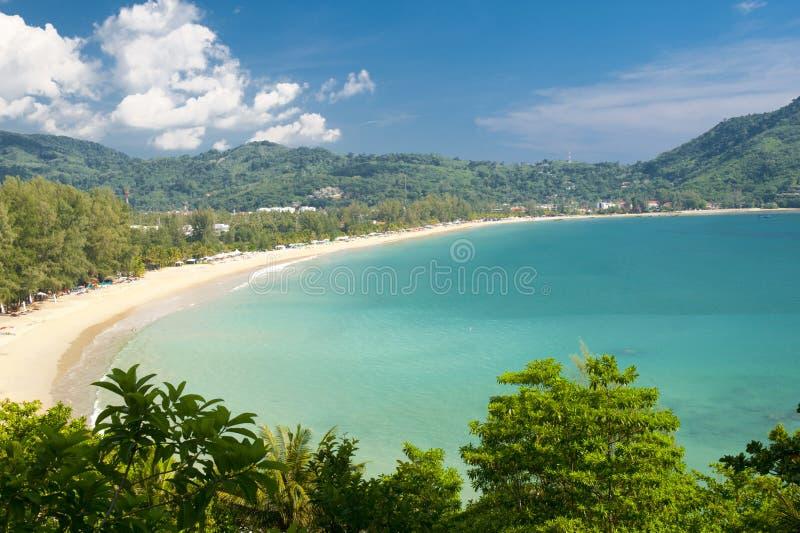 Download Plażowy Thailand zdjęcie stock. Obraz złożonej z ocean - 19255434