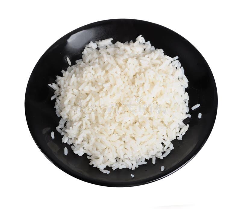 Plaat van rijst royalty-vrije stock foto