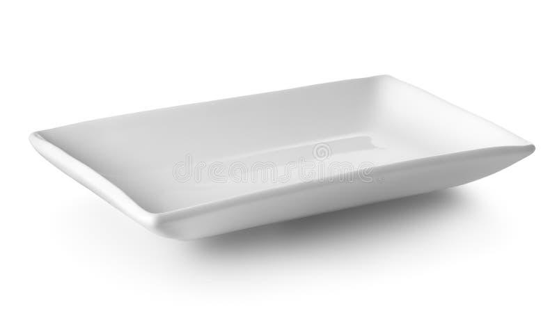 Plaat voor sushi stock foto