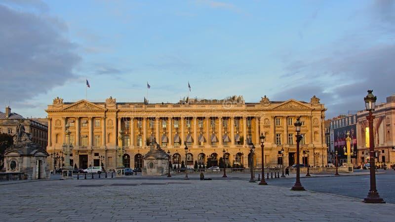 Plaats DE La concorde, grootste vierkant in Parijs stock foto's