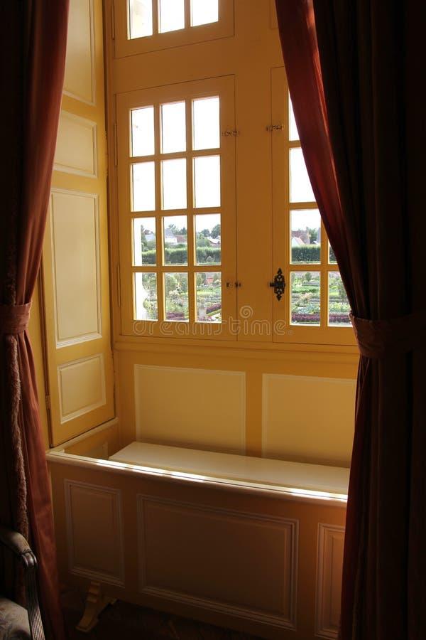 Plaats door het venster royalty-vrije stock foto's