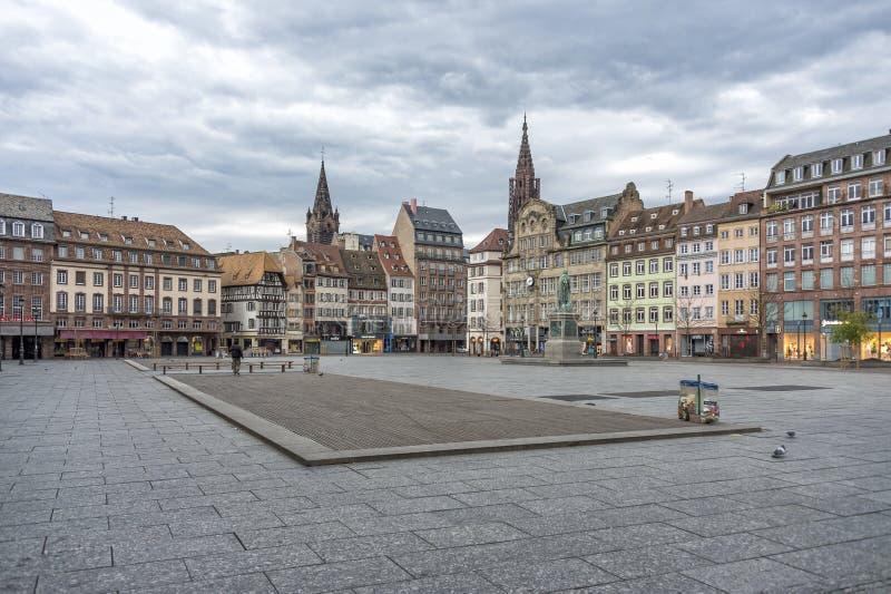 Plaats Kléber, Straatsburg, Frankrijk royalty-vrije stock afbeeldingen