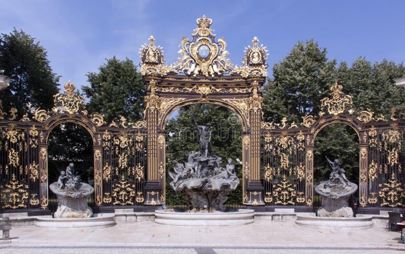Plaats Stanislas Nancy France royalty-vrije stock fotografie