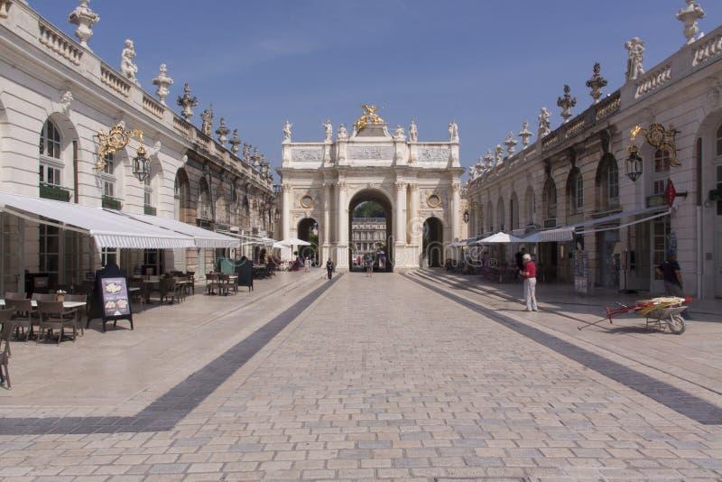 Plaats stanislas in Nancy France royalty-vrije stock fotografie