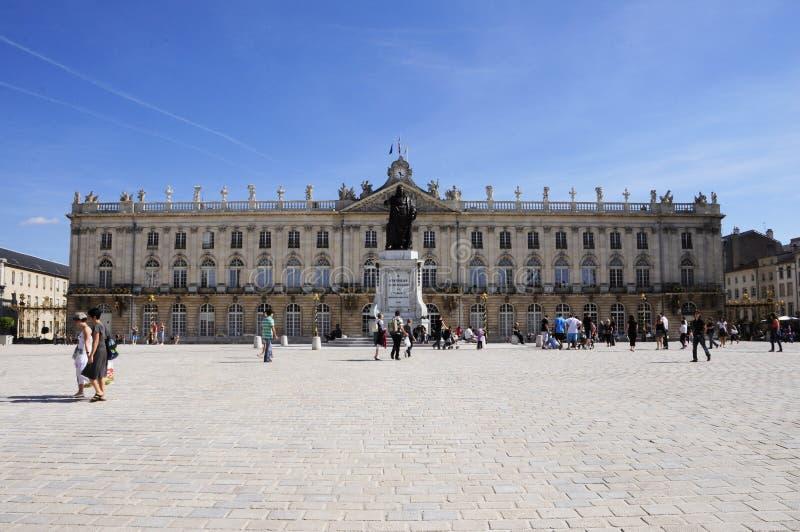 Plaats Stanislas (Nancy - Frankrijk) stock fotografie