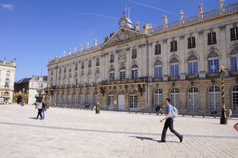 Plaats Stanislas (Nancy - Frankrijk) stock foto