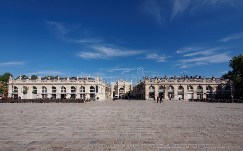 Plaats Stanislas in Nancy, Frankrijk royalty-vrije stock afbeeldingen