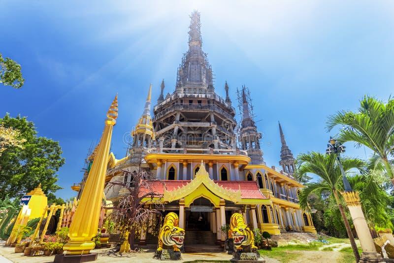 Plaats in Thailand te bezoeken stock afbeelding