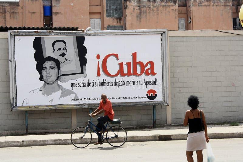 Plaatselijke bewoners in Havana stock fotografie