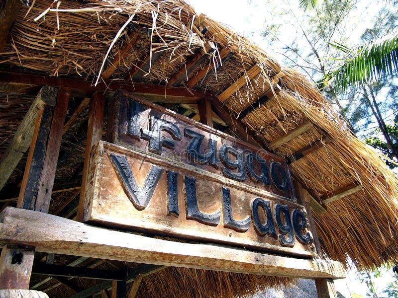 Plaatsen en aantrekkelijkheden binnen Nayong Pilipino in Clark Field in Mabalacat, Pampanga royalty-vrije stock fotografie
