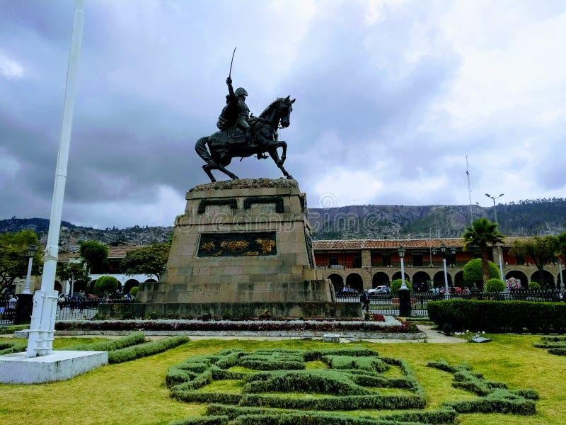 Plac De Armas Ayacucho obraz royalty free