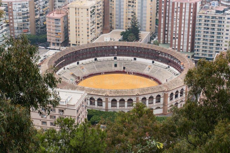 Plac De Toro Malaga Andalucia, Hiszpania obraz royalty free