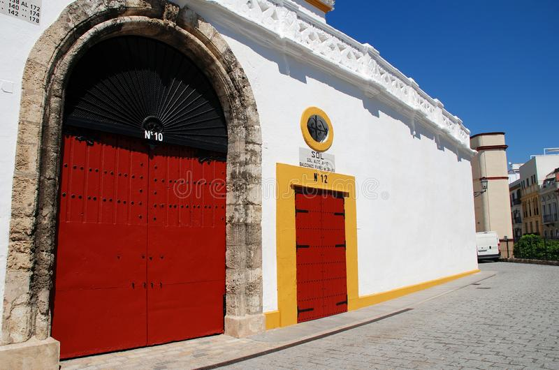 Plac De Toros, Seville zdjęcia stock
