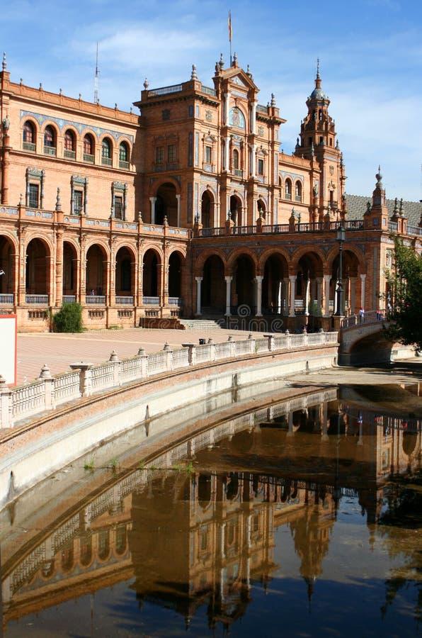 plac Seville obraz stock