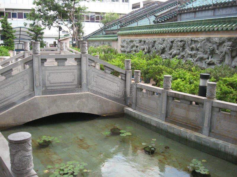Plac ulicy odpoczynku ogród Yau Ma Tei, Hong Kong fotografia stock