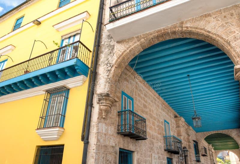 Plac Vieja Kuba Karaiby fotografia stock