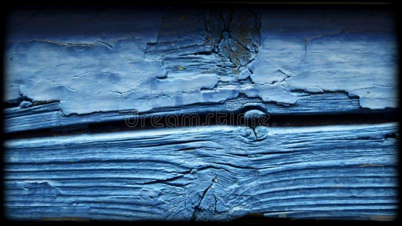 Placa azul idosa imagem de stock royalty free