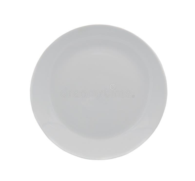 Placa branca imagens de stock