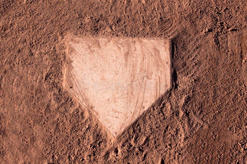 Placa casera polvorienta imagen de archivo