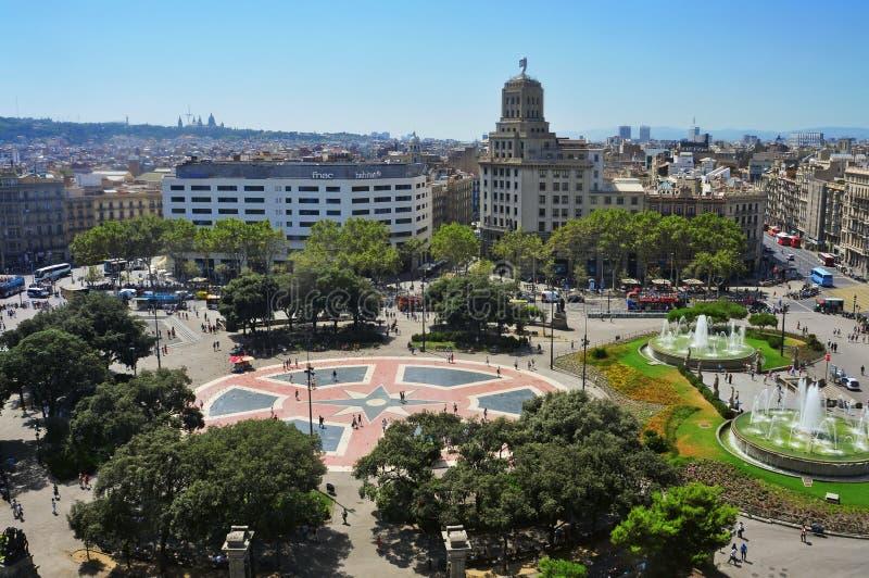 Download Placa Catalunya In Barcelona, Spain Editorial Photography - Image: 26265797