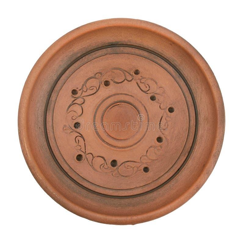 Placa cerâmica imagem de stock