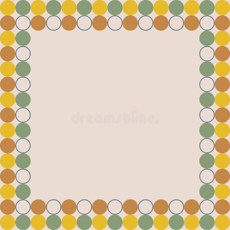 Placa da apresentação do projeto colorido do fundo do cartão creme atual fotos de stock royalty free