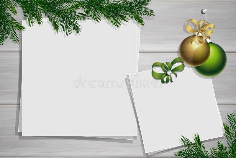 Placa da inspiração com beira Modelo do inverno foto de stock royalty free