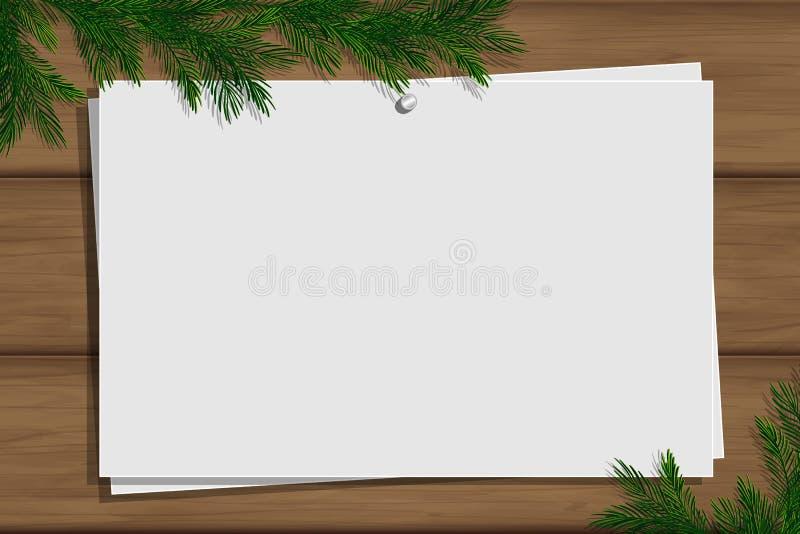 Placa da inspiração com beira Modelo do inverno imagens de stock royalty free