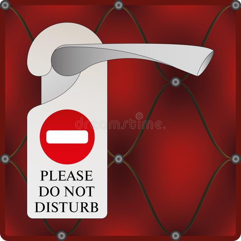 Download Placa da porta ilustração do vetor. Ilustração de segurança - 26523037