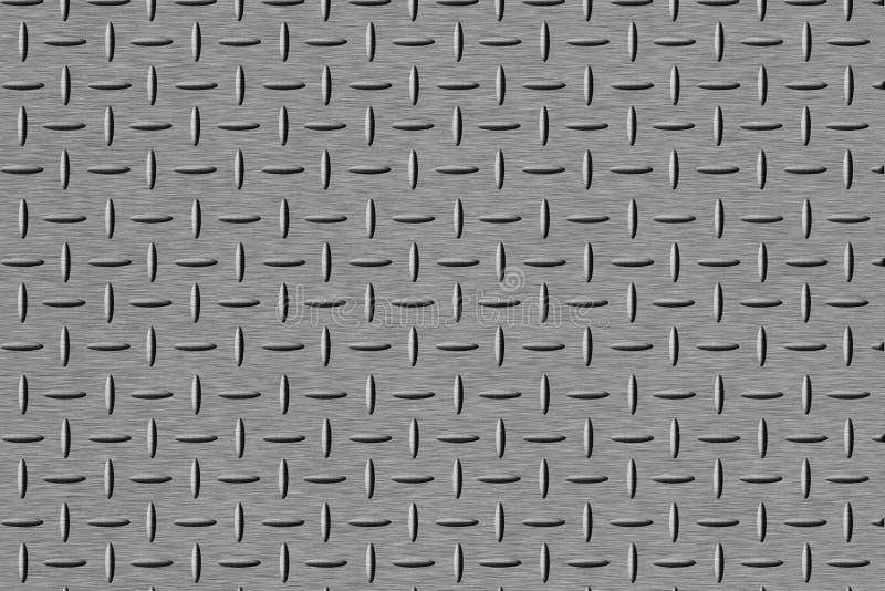 Placa de acero stock de ilustración