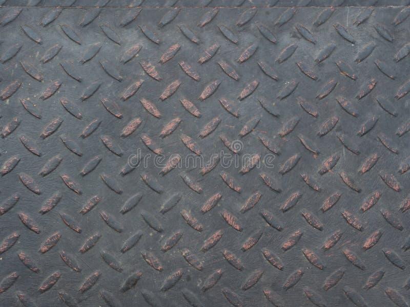 Placa de acero del diamante negro imagenes de archivo
