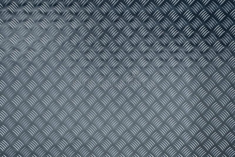 Placa de aluminio del inspector imagen de archivo