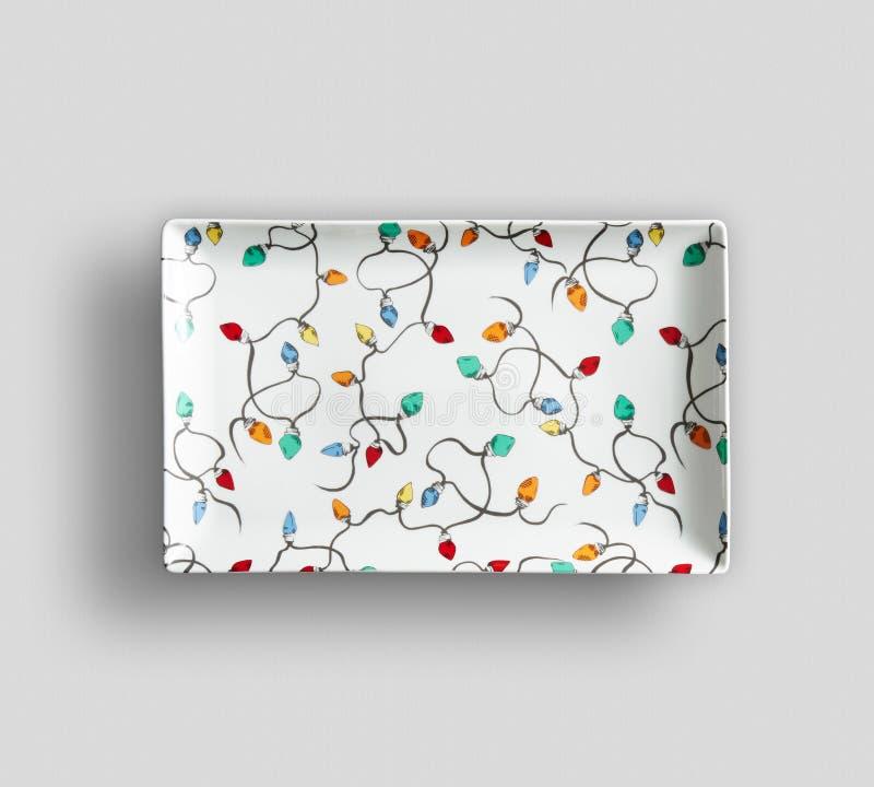 Placa de base de China - fundo da placa do prato da cor de ImageEmpty - prato vazio da cor da porcelana de jantar placas - Imagem imagem de stock