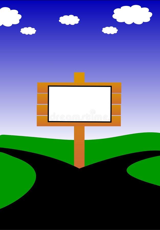 Download Placa de Bill ilustração stock. Ilustração de anúncio - 12803356
