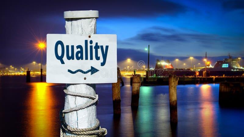 Placa de calle a la calidad stock de ilustración