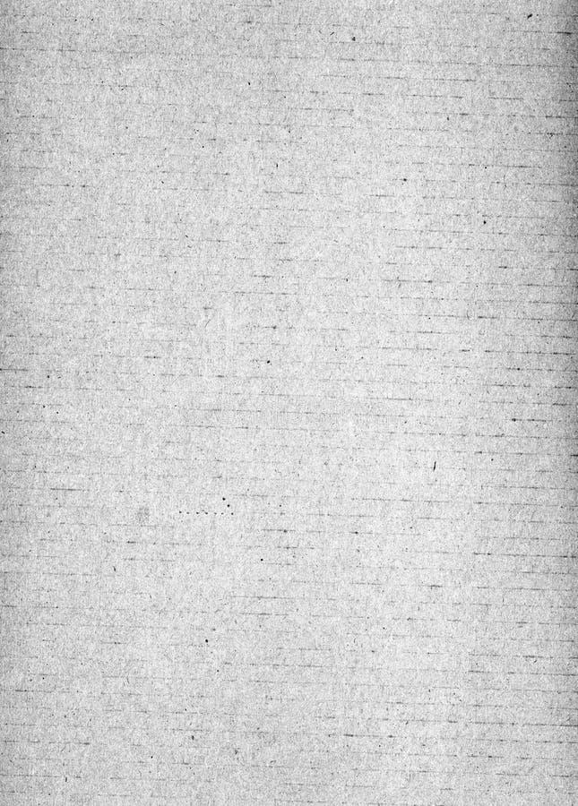 Placa de cartão ondulada Texure ilustração stock